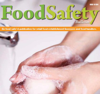 Food Safety Bulletin Issue 1: A set of guidelines for different aspects of food hygiene