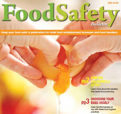Food Safety Bulletin Issue 2: A set of guidelines for different aspects of food hygiene