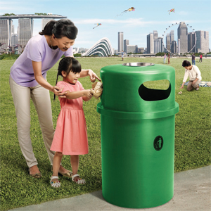 Keep Singapore Clean Poster 2016