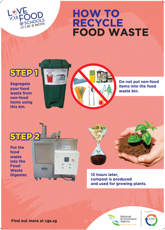 Food Waste Reduction Posters (A2, 4 types)